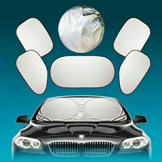 Bộ 6 tấm che nắng ô tô - 2697768 , 1234525479 , 322_1234525479 , 120000 , Bo-6-tam-che-nang-o-to-322_1234525479 , shopee.vn , Bộ 6 tấm che nắng ô tô