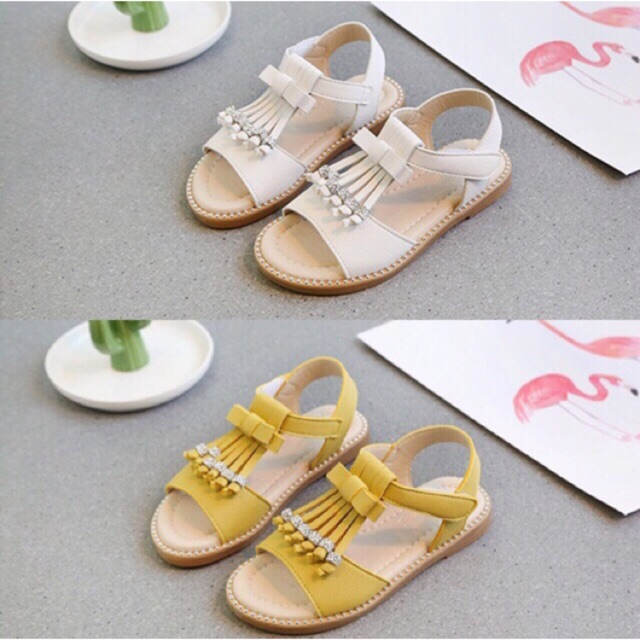 Giày sandal cho bé gái Sz 26-30 (lướt ảnh xem bảng Sz