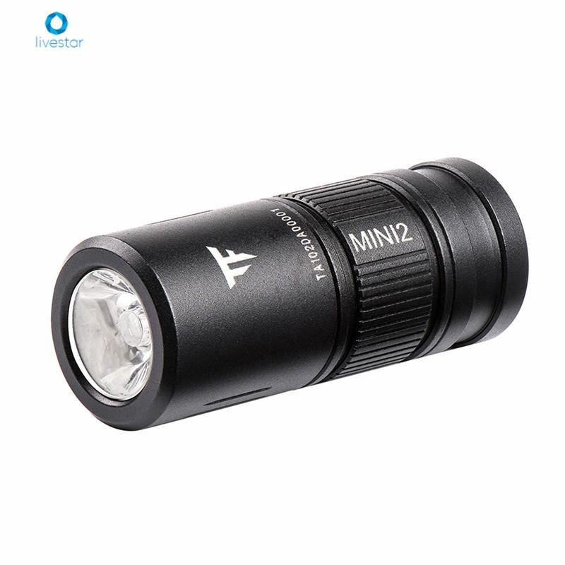 LS Mini EDC Torch 1.52Inch CA18-3X LED 220 Lumens Flashlight USB Rechargeable IPX8 Waterproof
