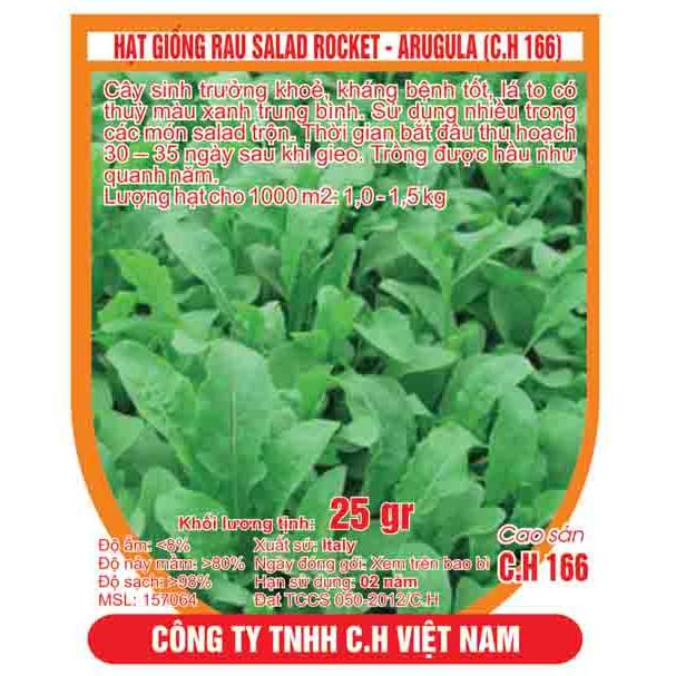 hạt giống rau salad rocket - 10031880 , 432065104 , 322_432065104 , 18000 , hat-giong-rau-salad-rocket-322_432065104 , shopee.vn , hạt giống rau salad rocket