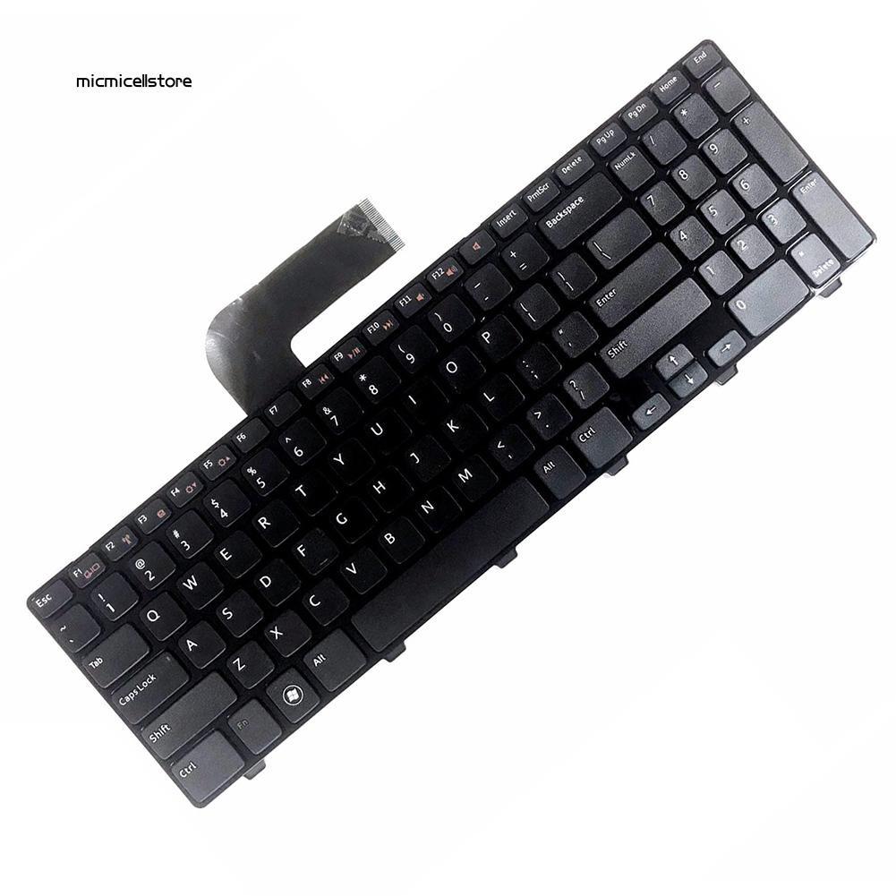MIC≈US Version PC Laptop Keyboard for Dell Inspiron 15R N5110 M5110 M501Z 4DFCJ