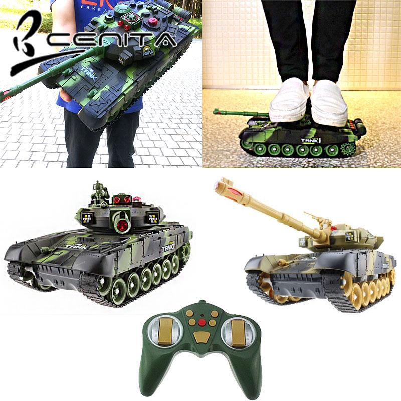 CNT Remote Control Tank Beginning Ability Tank Car Toy 1 Set Funny