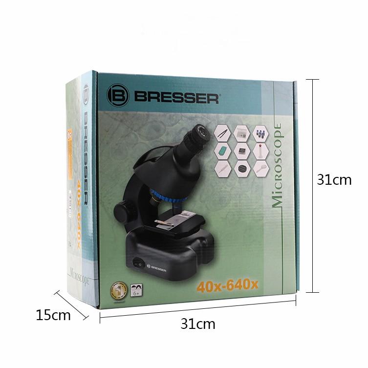 Kính hiển vi Bresser 40x-640x
