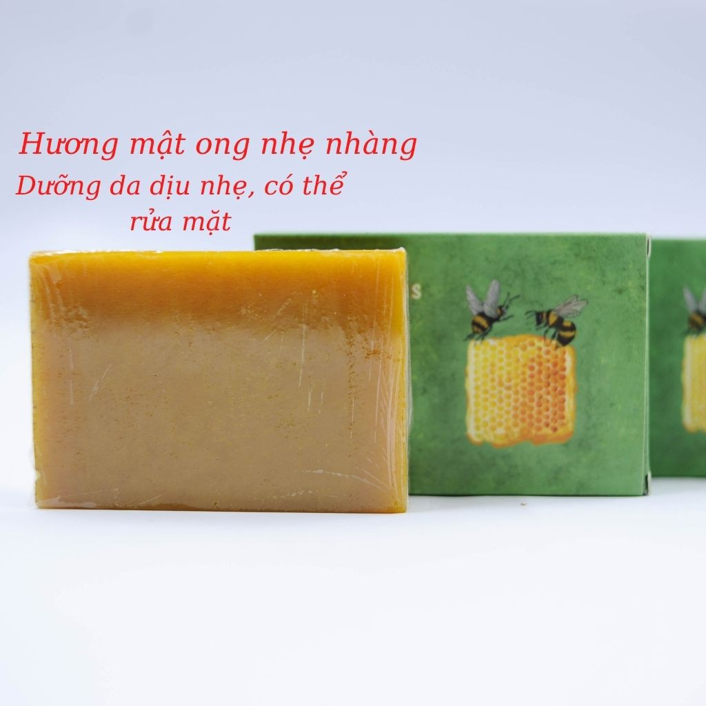 Xà Bông Nghệ - Mật Ong 100% Thiên Nhiên