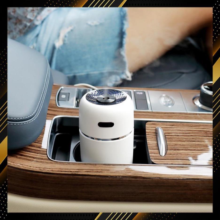 Máy phun sương tạo ẩm và khuếch tán tinh dầu cao cấp cho Ô tô, Máy phun tinh dầu xe hơi, khử mùi - diệt khuẩn tối ưu