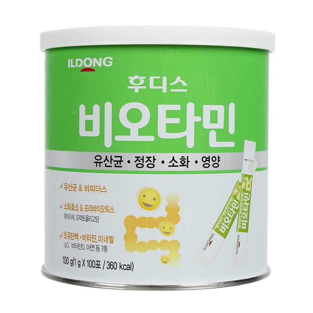 [CHÍNH HÃNG] Sữa non men tiêu hóa ILDONG Hàn Quốc 100g_Duchuymilk