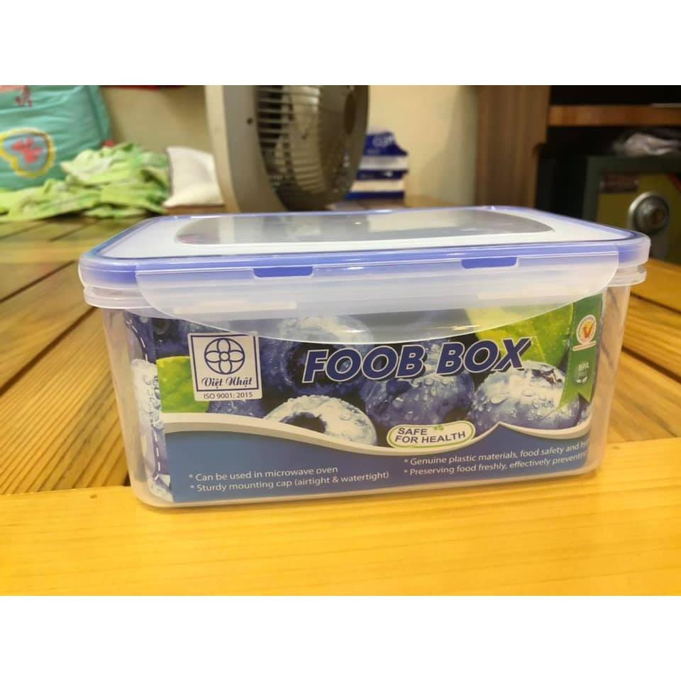 Bộ 3 hộp đựng thực phẩm có nắp chống tràn Foob Box
