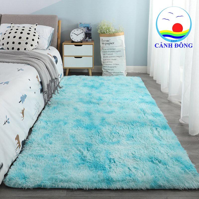 Thảm lông trải sàn siêu mềm trang trí phòng khách phòng ngủ