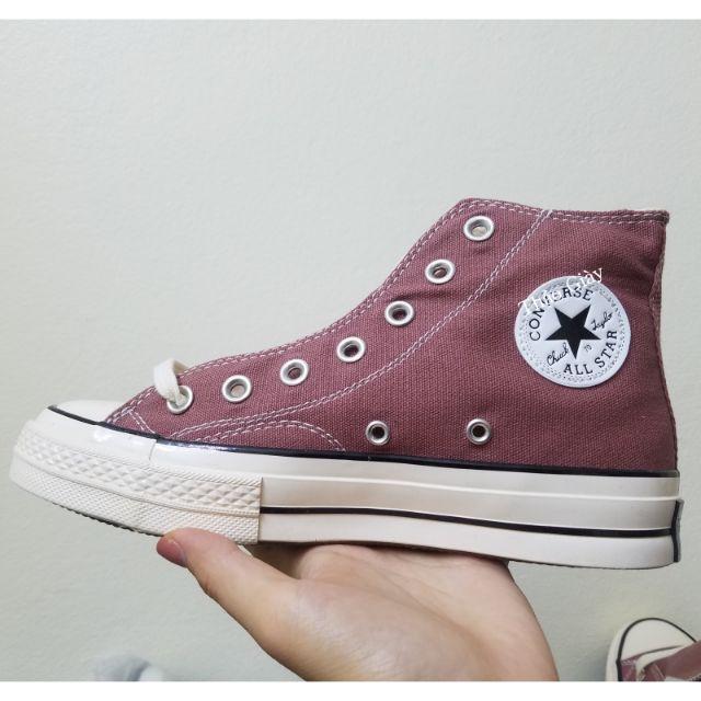 HOT | Bán Chạy | Giày sneaker Cv hồng cổ cao [TOP] BAN CHAY