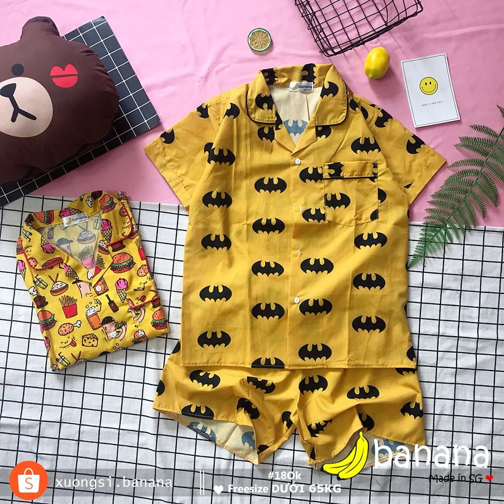 [Banana]- Bộ ngủ Pijama Batman/ hamburger nhỏ (dưới 65kg) - 3130213 , 1275798962 , 322_1275798962 , 180000 , Banana-Bo-ngu-Pijama-Batman-hamburger-nho-duoi-65kg-322_1275798962 , shopee.vn , [Banana]- Bộ ngủ Pijama Batman/ hamburger nhỏ (dưới 65kg)