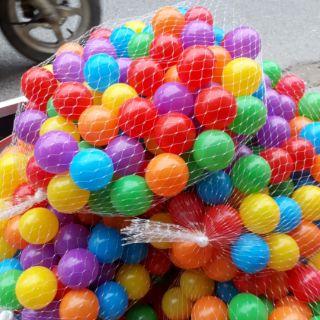 100 bóng nhựa phi 5cm hàng dày loại 1 (3 túi 1 đơn)