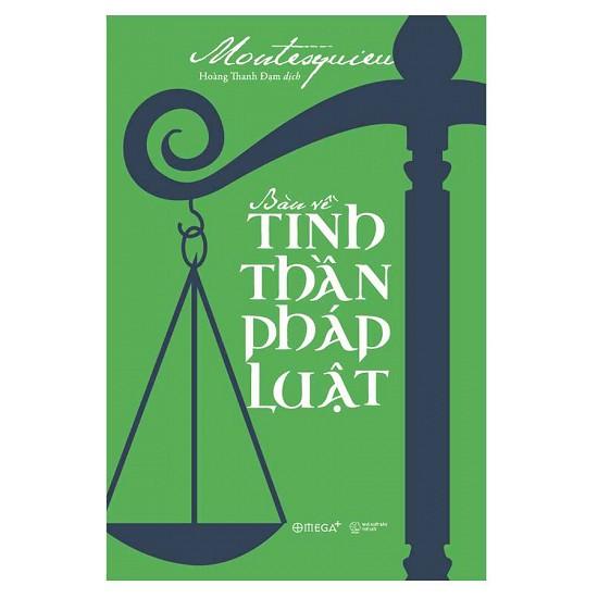 Sách - Bàn Về Tinh Thần Pháp Luật