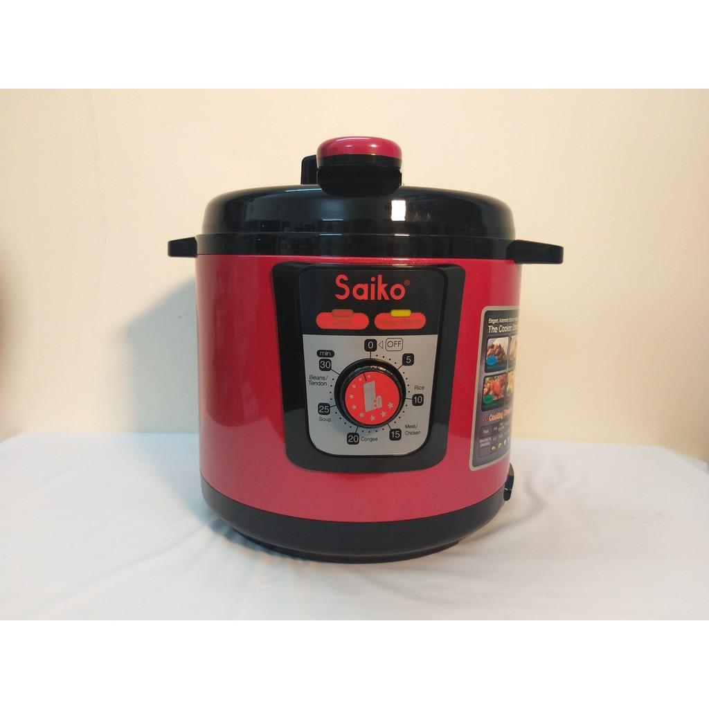 Áp suất điện Saiko EPC-522 - Hàng chính hãng, Dung tích 6L, Bảo hành 18 tháng