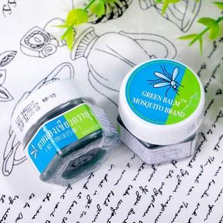 Dầu chống muỗi thái lan chiết xuất từ thiên nhiên Green Balm Mosquito brand