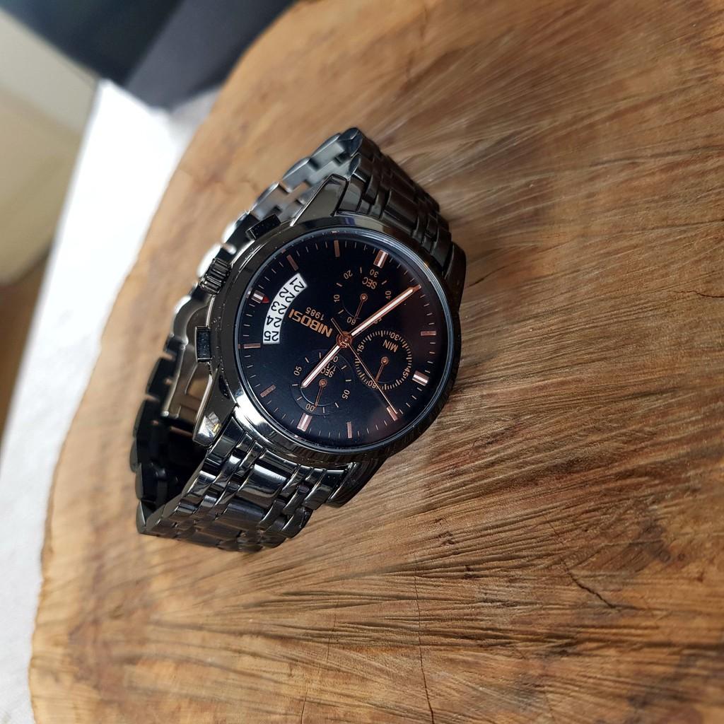 [Tặng vòng tay]Đồng hồ nam NIBOSI chính hãng NI2353.09 thời trang