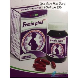 Bổ bà bầu bổ sung sắt và các vitamin Femin PLUS cho phụ nữ mang thai và cho con bú