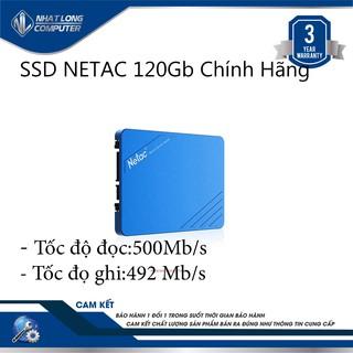 Ổ cứng ssd Netac 120gb Sata3
