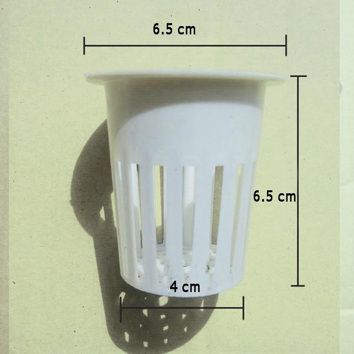 Rọ trồng rau thủy canh khí canh - Bộ 150 rọ nhựa