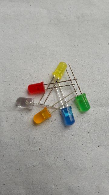 100 bóng led 5mm đủ các loại màu