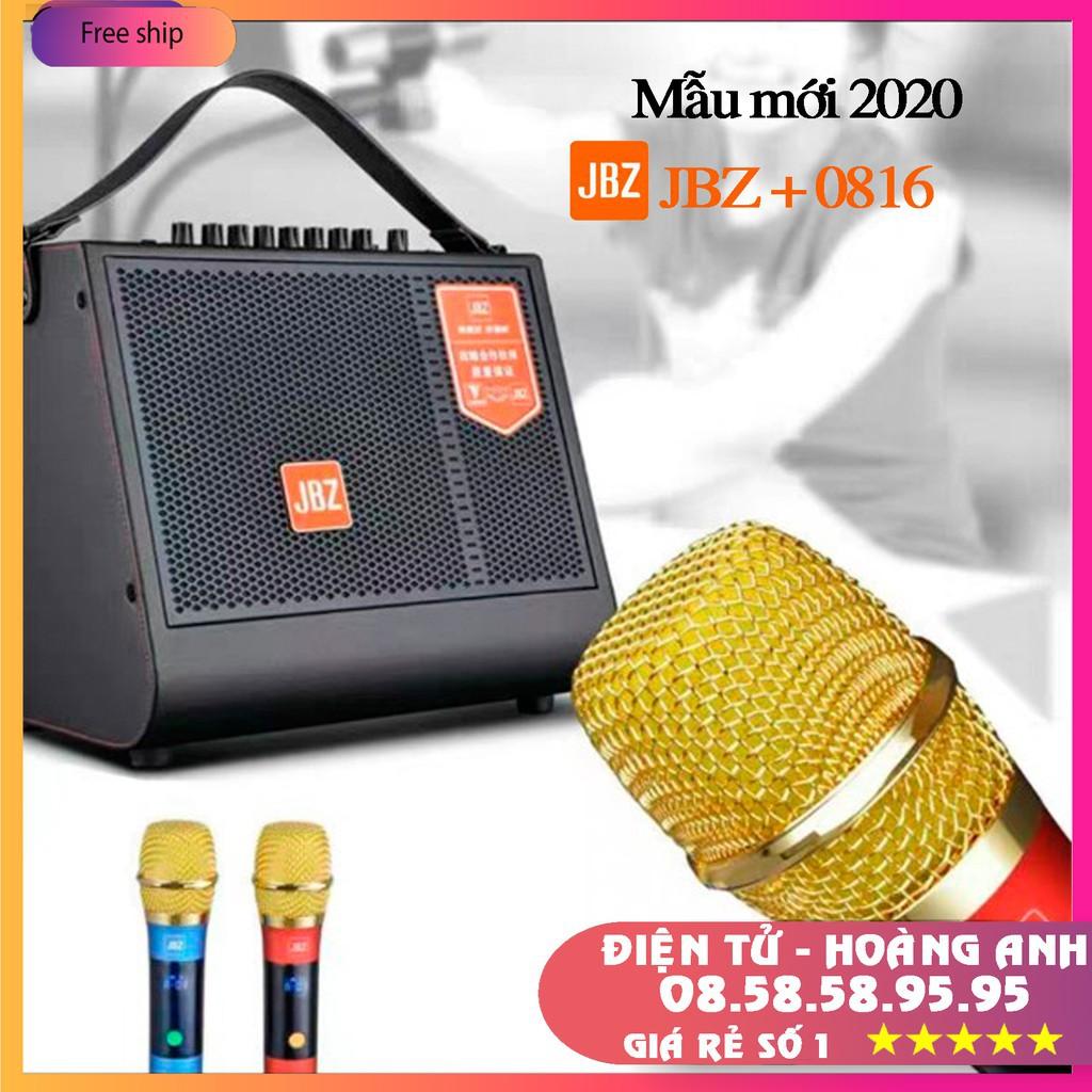 "Loa JBZ 0816 / 0815 / 0616 / 0615 ""loa kéo mini"" tích hợp karaoke livestream thu âm bass trầm cực hay"