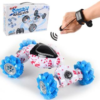 YOUN* 2.4G Gesture Sensing RC Stunt Car Double-sided Driving Four-wheel Drive Car Toys
