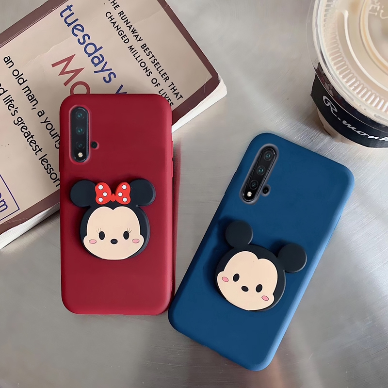 Huawei Honor 9x 20 20pro 10i 20i 20lite 7s 5A Y6-2 8s Y5 2019 Soft Silikon Cartoon Phone Casing