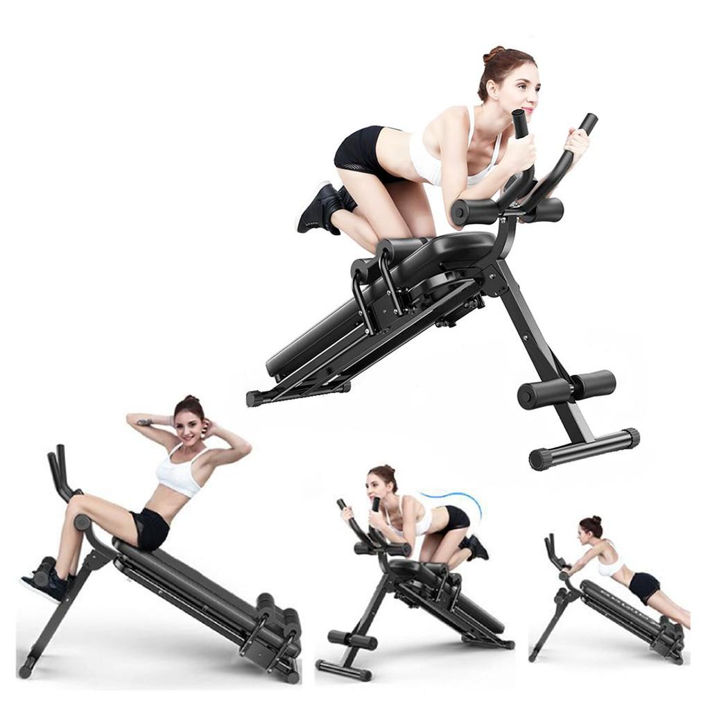 Ghế máy tập cơ bụng lưng tay ngực eo hông đa năng 4.0 Elip AB Gym chính hãng - Thế hệ ghế máy tập cơ bụng tiên tiến nhất