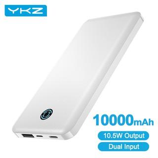 Sạc Dự Phòng YKZ USB Type C Dung Lượng 10000mAh Cho iphone Xiaomi Mi 9 Có Thể Mua Kèm Cáp