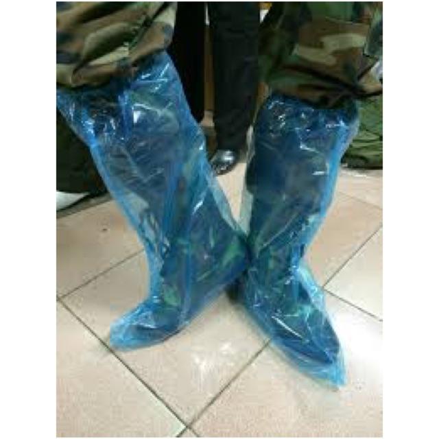 ỦNG ĐI MƯA NHỰA NYLONG DẺO RẤT BỀN GIÁ RẺ - bao bọc giày đi mưa
