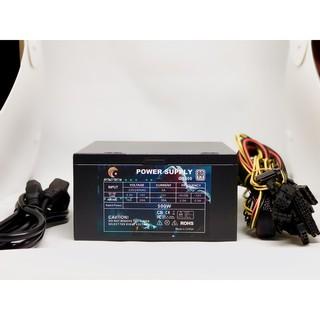 Nguồn máy tính Goldtech GS500 CST Power Supply có nguồn phụ chiến các loại game, bảo hành chính hãng 36 tháng