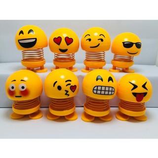 Bộ 3 Emoji loại 1 hộp to hình biểu tượng cảm xúc thú nhún lò xo_tuanthanh
