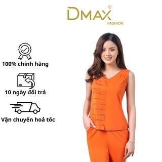 Bộ đồ mặc nhà mùa hè cotton Dmax cổ tim in họa tiết quần ngố thumbnail