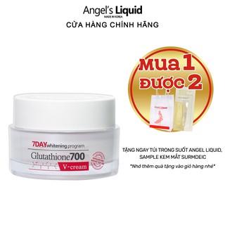 Kem dưỡng trắng, dưỡng ẩm, mờ thâm da Angel Liquid 7 Day Whitening Program Glutathione 700 V-Cream 50ml thumbnail