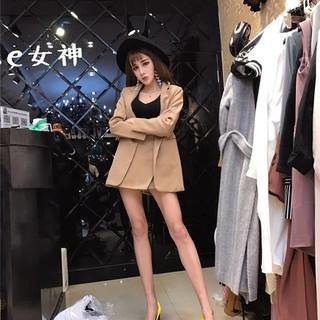 2018 mùa hè mới thời trang tính khí dài phù hợp với áo khoác + váy không thường