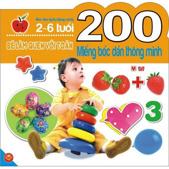 Sách: 200 Miếng Bóc Dán Thông Minh - Bé làm quen với toán (2-6 Tuổi) - 2778447 , 736018616 , 322_736018616 , 46000 , Sach-200-Mieng-Boc-Dan-Thong-Minh-Be-lam-quen-voi-toan-2-6-Tuoi-322_736018616 , shopee.vn , Sách: 200 Miếng Bóc Dán Thông Minh - Bé làm quen với toán (2-6 Tuổi)