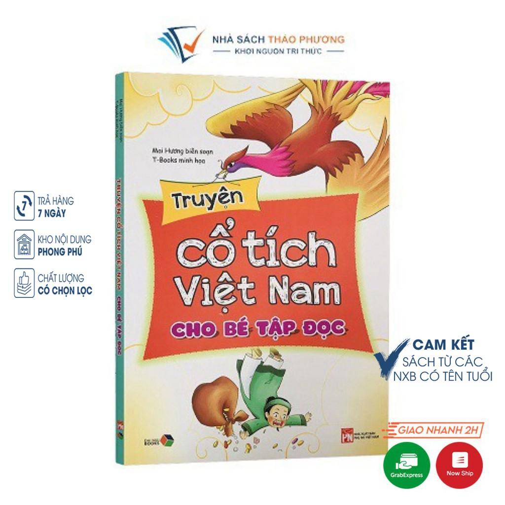 [Mã LIFEHOT55 giảm 10% đơn 99K] Sách - Truyện cổ tích Việt Nam cho bé tập đọc