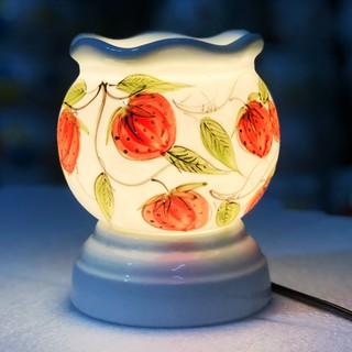 Đèn xông tinh dầu Bát Tràng size to cao 15cm 3