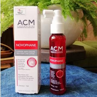 Serum ngăn ngừa rụng tóc và kích thích mọc tóc Novophane Lotion ACM 100ml thumbnail