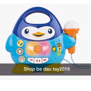 Đồ chơi Winfun Penguin Music Player với Microphone