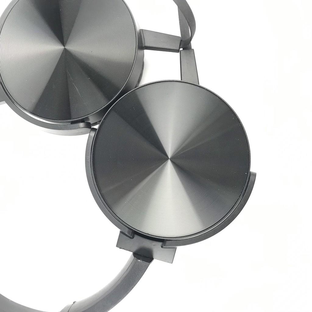 Tai nghe chụp tai có dây Extra Bass 450AP  jack 3.5 có mic đàm thoại, kiểu dáng thể thao, dùng cho điện thoại và laptop.