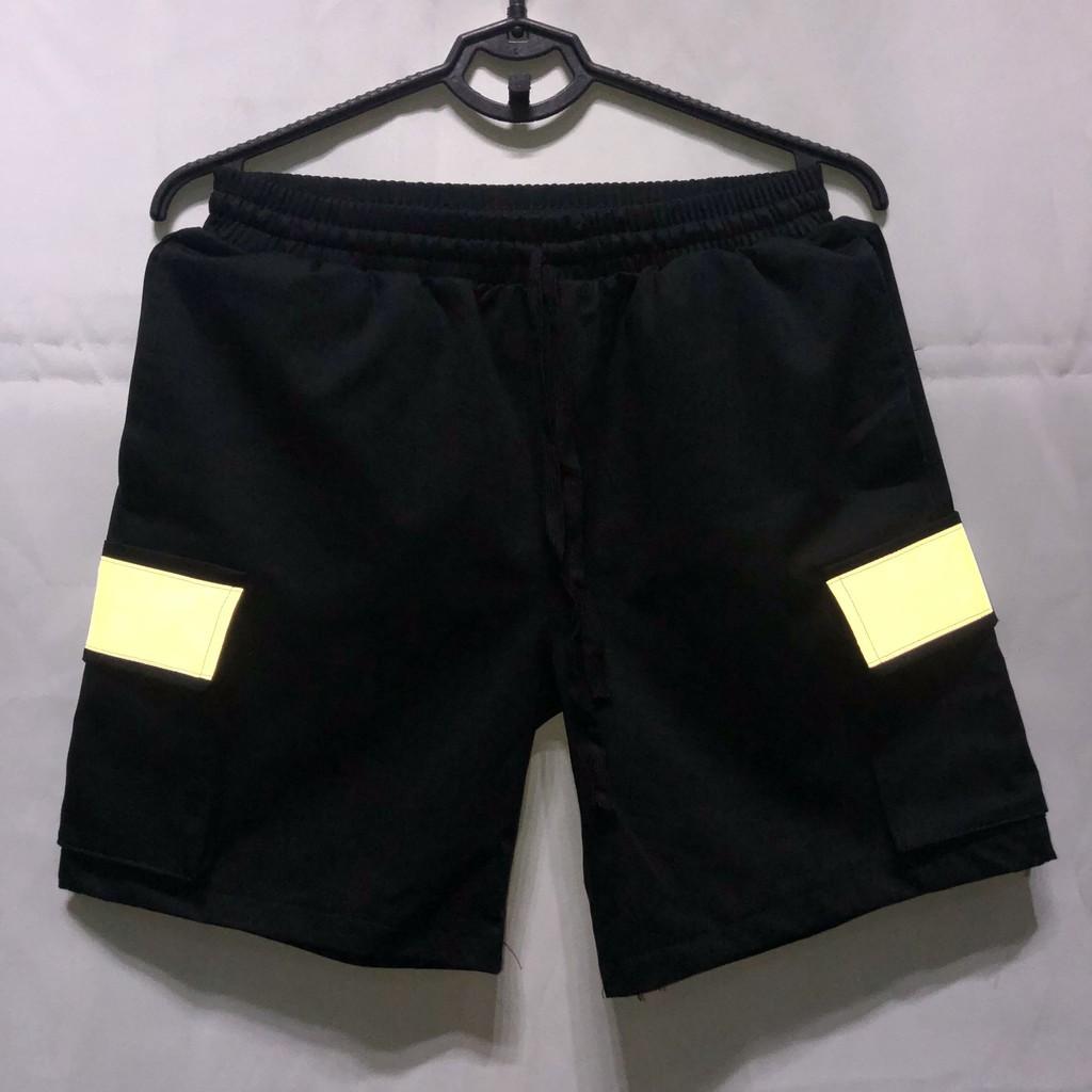 [HIT] Quần Short Túi Hộp Phản Quang Unisex - Quần Đùi Unisex