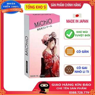 [giá sỉ] Bao cao su Michio gân gai nhập khẩu nhật hộp 12c thumbnail