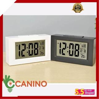 Đồng hồ báo thức cảm biến phát sáng trong đêm V4 Canino ( bảo hành 12 tháng)