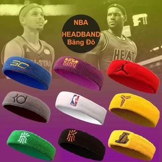 Băng đô chặn mồ hôi trán Headband thể thao cầu thủ bóng rổ NBA chất liệu len thấm mồ hôi tốt, không bí nóng basketball