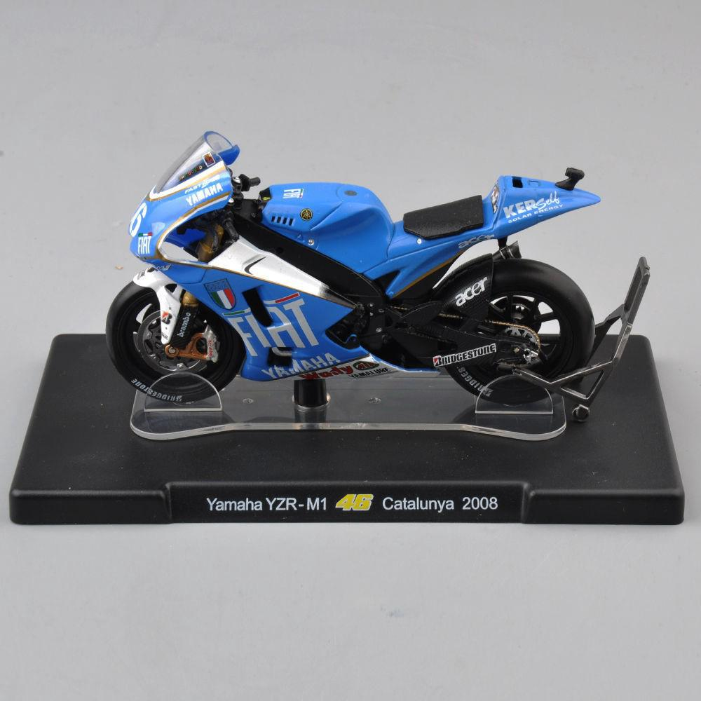 1/18 VALENTINO ROSSI Yamaha YZR-M1 46# Motorcycle Model Toy