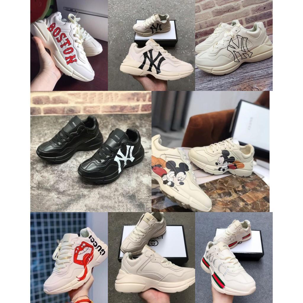 [FullBox] Giày Sneaker gucciii nam nữ size 36-44
