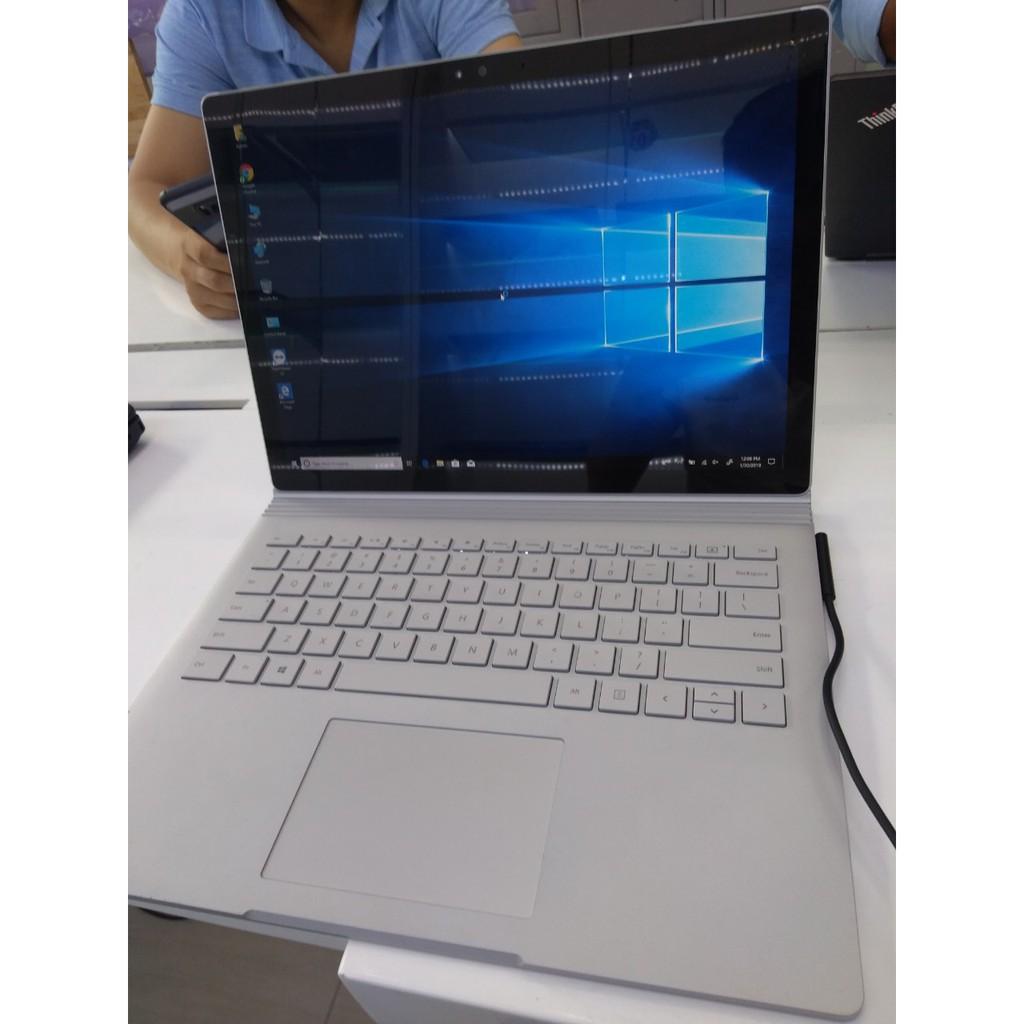 Surface Book i5-6300U / Ram 8GB / SSD 512 GB - Cảm ứng, Có thể tháo rời màn hình và bàn phím