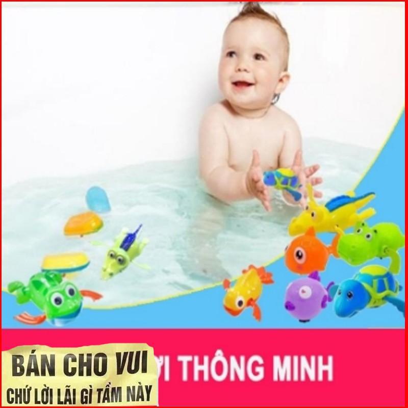 [GIÁ SỈ] Đồ chơi con vật lên dây cót biết bơi cho bé
