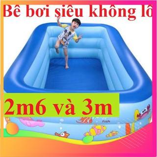 GIÁ SỐC- – SIÊU TO- Bể Bơi Phao SIÊU TO- 2m6-3 tầng TẶNG BỘ VÁ PHAO