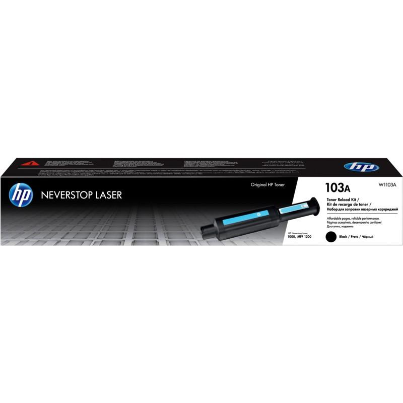 Mực in laser HP 103A dùng cho máy in HP Nerverstop 1000W/1200W/1000A/1200A – 2500pages_W1103A - Hàng Chính Hãng